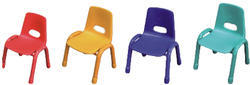 Red and Yellow Kids Chair
