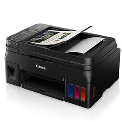 Canon Refillable Ink Tank Wireless All-In-One with Fax for High Volume Printer