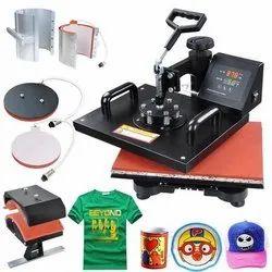 Sublimation T Shirt Heat Press Machine, Capacity: 500 Piece / Hour