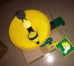 S-Safe Eyewash Safety Shower - Wall Mounted Eye Wash