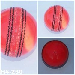 Cricket Leather Ball 4 Piece Pink