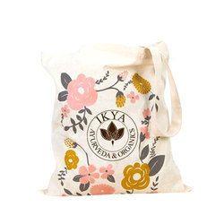 2 Handle Promotional Cotton Bag, Capacity: 5kg, Capacity (Kilogram): 10-12 Kg