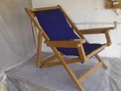 Blue Wooden Chair