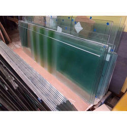 Polished Transparent Toughened Glass, Thickness: 12mm