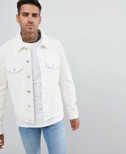 d0c8c854057 Plain White Denim Jacket For Men at Rs 920 /piece | Mens Designer ...