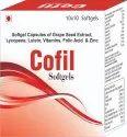 Softgel Capsules of Grape Seed Extract Lycopene Lutein Vitamins Folic Acid Zinc and Selenium
