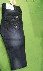 Men Casual Wear Blue Denim Jeans