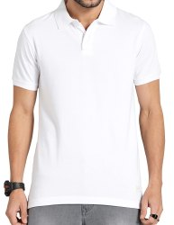 Mens White Promotional T Shirt