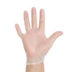 Vinyl Examination Gloves, Packaging Type: Packets
