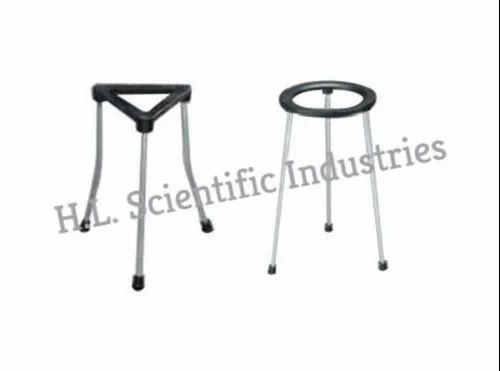 PHYSILAB Mild Steel Laboratory Tripod Stand, For Laboratory