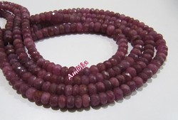 Natural Pink Sapphire Beads