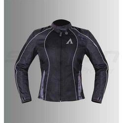 Faux Leather Full Sleeve Ladies Motorcycle Jacket