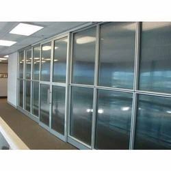 Aluminium Partition Fabrication