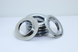 Silver Plastic Eyelets Rings
