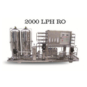 2000 LPH Industrial RO Plant
