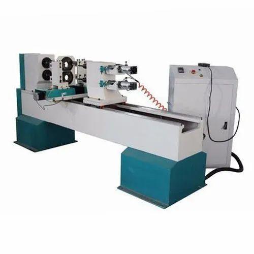 4 Kw Automatic CNC Wood Lathe Machine, Rs 340000 /unit KVR ...