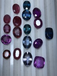 Natural Unheated Multi Sapphire Gemstones