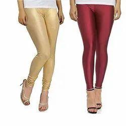 Viscose Churidar Ladies Shiny Legging
