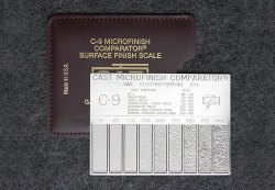 C-9 Cast Microfinish Comparator