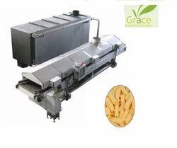 Automatic Snacks Frying Machine