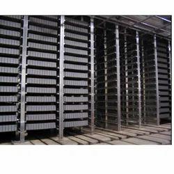 Concrete Block Curing System