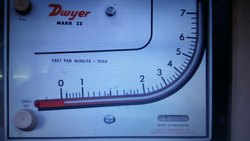 Mark II Dwyer Molded Plastic Manometer