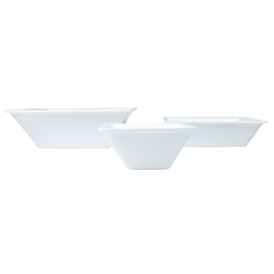 ACRYLIC SQUARE SERVING BOWL