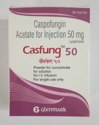 Casfung Caspofungin Acetate Injection, Packaging Type: Glass Bottle,Box, Dosage: 50 Mg