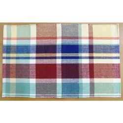 Cotton Checked Ribbed Placemat