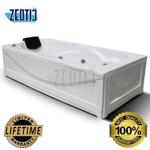 Zeotic India Olivia Jacuzzi Massage Acrylic Bathtub