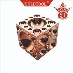 Gold Tool Gun Metal Domming Block