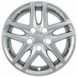 Sliver Car Wheel Cover, Packaging Type: Box