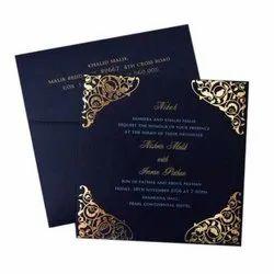 Pull-Out Insert Craft Designer Wedding Cards
