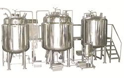 Automatic Liquid Oral Suspension Manufacturing Plant