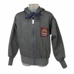 Grey School Hood Jacket