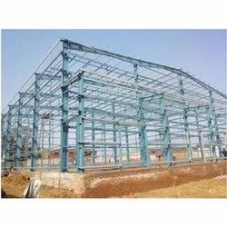 MS Prefab Galvanized Pre Engineered Building Structure, Thickness: 6 To 8mm
