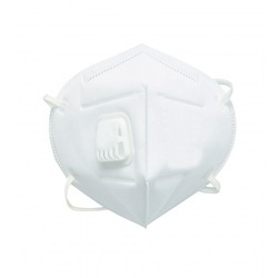 Filter Mask Fold able Active Carbon and Valved Dust Mask FFP1