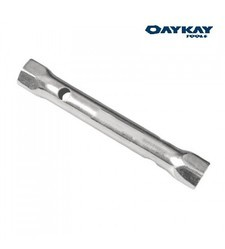 Tubular Box Spanner With Tommy Bar