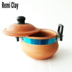 Terracotta Clay Milk Handi