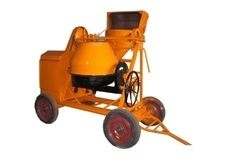 Concrete Mixer With Wire Rope Operated Hopper