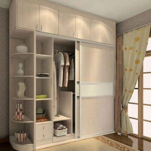 Sliding Wooden Wardrobe At Rs 1600 00 Square Feet लकड़ी