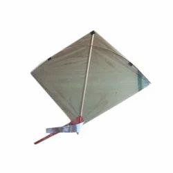 Plastic Paper Bamboo Stick Square Wind Kites