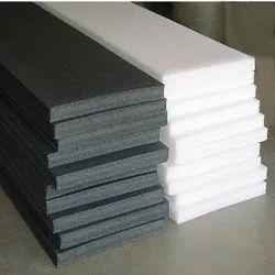 Black,White Polypropylene Foam Sheet, Thickness: 1 Inch, Size: 3 X 6 Feet