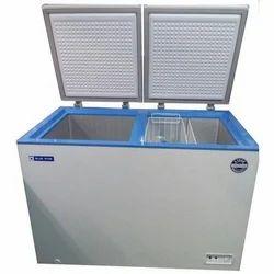 Automatic Aluminium Blue Star Deep Freezer , 300 L