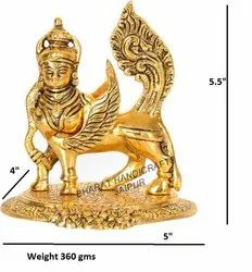 Gold Plated Kamdhenu Cow