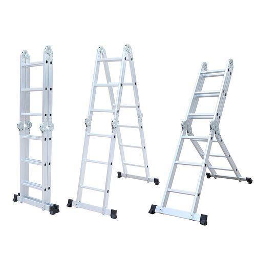 Aluminium Ladders - Aluminum Folding Step Ladder With Platform