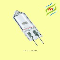 Halogen Lamp 15V-150W Without Reflector