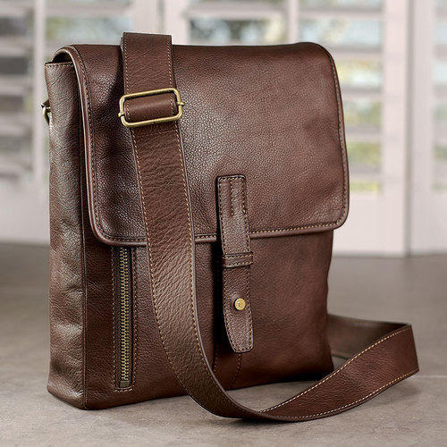47fd6413b287 Men Side Leather Bag at Rs 2000  piece