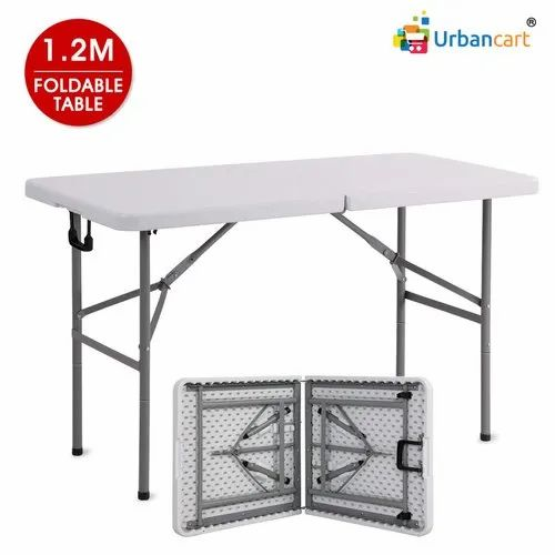 Folding Table With Handle.Portable Abs Patio Folding Table With Carrying Handle And Adjustable Height
