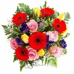 multi color flower bouquet flower bouquet flower buds hyderabad